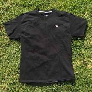 7d600ad5 Champion Shirts - ❌ SOLD ON DEPOP ❌ Black Champion Tshirt